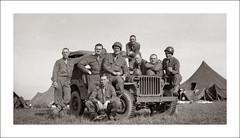Fashion 0312-10 - July 1944 (Steve Given) Tags: familyhistory socialhistory fashion group medics england ww2 worldwartwo 1940s men