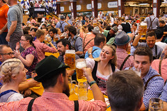 Oktoberfest, Munich (ajayem) Tags: flikr ol travel photography canon canon60d sigma35mm sigma35art germany deutscshland munich muenchen sommer summer fall autumn oktoberfest beer prost cheers people girl lederhosen
