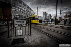 ManchesterVictoria2016.10.09-7 (Robert Mann MA Photography) Tags: manchester manchestervictoria manchestercitycentre greatermanchester england victoria victoriastation manchestervictoriastation manchestervictoriarailstation victoriarailstation city cities citycentre architecture summer 2016 sunday 9thoctober2016 manchestermetrolink metrolink trams tram nightscape nightscapes night light lighttrails