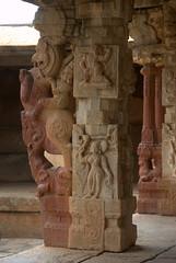 Ornately carved pillar (VinayakH) Tags: bhoganandeeshwaratemple karnataka india temple nandihills chikkaballapura chola ganga hoysala tipusultan religious historic