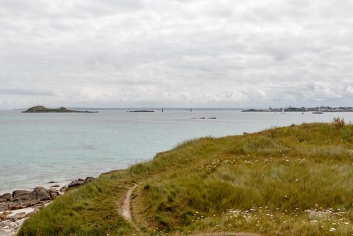 À l'Est de l'île de Batz