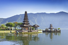 Ulun Danu temple (bruno_colombi1) Tags: architecture attraction asia asian bali balinese beautiful bedugul beratan blue bratan cloud danu day exotic god hindu history holy indonesia island mountains nature morning lake landscape landmark old peaceful pray pura reflection religion religious sacred scenic scenery silhouette sky spirit spiritual stone symbol sunny temple travel tropical ulun water white