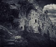 Steps of Faith (Peter Kurdulija) Tags: breznica geo:lat=4427215432 geo:lon=2153667927 geotagged serbia srb zagubica timockakrajina srbija eastern europe balkans religious hriscanski christian heritage historic stone rock monastery manastir blagovestenje gornjacko river reka mlava klisura canyon gorge building kurdulija