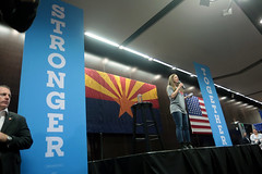 Chelsea Clinton (Gage Skidmore) Tags: chelsea clinton hillary daughter mother campaign rally arizona state university memorial union tempe student 2016