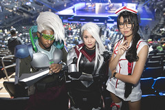 Fans (lolesports) Tags: worlds leagueoflegends worldchampionship worlds2016 knockoutstage semifinals lolesports lol esports fans newyorkcity newyork usa cosplay nurseakali akali projectekko ekko projectkatarina katarina