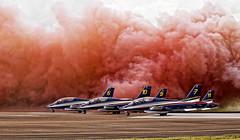 Frecce Tricolori (gopper) Tags: frecce tricolori freccetricolori italian riat display italy colour color amazing airforce ngc fairford red white blue