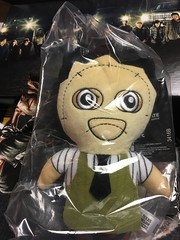 loot crate 2016 (timp37) Tags: texas chainsaw massacre illinois october 2016 loot crate toy plush sad face leather