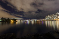 vc skyline @night (VSiemonArts) Tags: vc vancouver vancouverskyline bufugang bufugoescanada canada canon shore falsecreek nigth