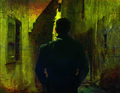 The world of bitter-sweet memories (bdira3) Tags: conceptual painterly man emotional textured memory atmospheric
