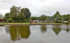 "Chaletpark ""de Veenhoeve"", Tienhoven (bcbvisser13) Tags: chalets chaletpark vijver plas water bomen reflectie panorama westbroeksebinnenweg tienhoven gemstichtsevecht provutrecht nederland eu"