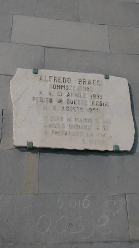 Alfredo Bracci plaque