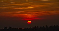 Silente Tramonto (G.Sartori.510) Tags: pentaxk1 pentaxdasmc60250mmf4edifsdm sole sun nuvole clouds cielo sky