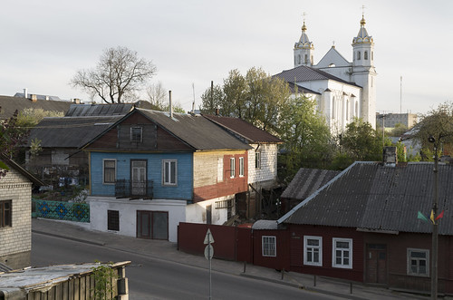 View to Sts. Boris and Gleb Church, 02.05.2014.