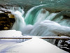 Handheld Athabasca Falls (Witty nickname) Tags: waterfall waterfalls athabascariver athabascafalls water river jasper jaspernationalpark outdoor fall autumn handheld nikond800 nikkor2470mmf28 alberta natural nature snow wood ice longexposure