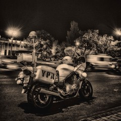 Police Bike (Rob's4tography) Tags: outdoor outside blackandwhite monochrome motorcycle police azerbaijan baku polis streetphotography frozenintime lawandorder bw azerbaycan azrbaycan bak bike policerider