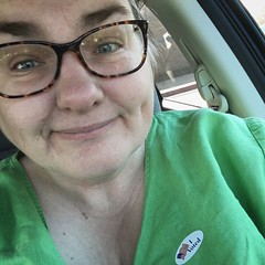 11/8/16 I Voted (Karol A Olson) Tags: ivoted vote election selfie democracy insanity nov16 project3662016