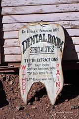 Dental Signage (Gerald (Wayne) Prout) Tags: dentalsignage sign display advertising goldkingmineghosttown jerome arizona usa prout geraldwayneprout canon canoneos40d dental signage goldkingmine ghosttown gold king mine ghost town yavapaicounty yavapai county