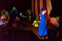 Walk the Plank (Havoc315) Tags: 2016 vacation disney peterpan wendy wendydarling disneyworld pirateship darkride nikond750 tamron4518