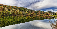 IMG_0870-72Ptzl1scTBbLGE (ultravivid imaging) Tags: ultravividimaging ultra vivid imaging ultravivid colorful canon canon5dmk2 clouds sunsetclouds scenic rural vista reflections water autumn autumncolors fall