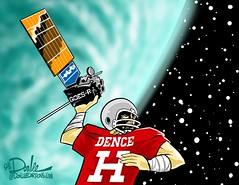 1116 dence weather sat cartoon (DSL art and photos) Tags: editorialcartoon donlee dence huron tiger football satellite lockheedmartin weather goesr