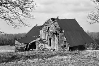 falling house