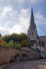 2016-10-24 10-30 Burgund 454 Autun, Saint Lazare (Allie_Caulfield) Tags: foto photo image picture bild flickr high resolution hires jpg jpeg geotagged geo stockphoto cc sony alpha 77 france frankreich burgund bourgogne saneetloire autun historic city altstadt kathedrale saintlazare st cathedrale eglise church kirche romanik romanisch