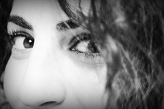 (..*SiMo*..) Tags: sara ritratto bn biancoenero people girlwomanvolto viso face primopiano occhi eyes