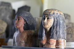 Double statuette (konde) Tags: 18thdynasty newkingdom statuette art ancientegypt