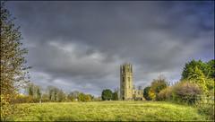 Lowick Church 2 (Darwinsgift) Tags: lowick church northamptonshire autumn hdr photomatix photoshop pce nikkor 24mm f35 d ed mf nikon d810