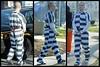 8280567332_e98e544414_o (Prisoner Wale) Tags: perpwalk shackled shackles legcuffs handcuffs handcuffed prisoner restraints restraintbelt
