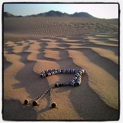 A relationship takes time and effort. (danielbennett6) Tags: desert saudi misbah tasbih subha dhikr meditation contemplation islam islamic prayer salah sand arabia saudiarabia muslim rosary prayerbeads beads