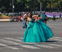 Any Given Sunday 534 (L Urquiza) Tags: quinceañera mexico city ciudad paseo de la reforma