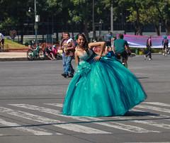 Any Given Sunday 534 (L Urquiza) Tags: quinceaera mexico city ciudad paseo de la reforma