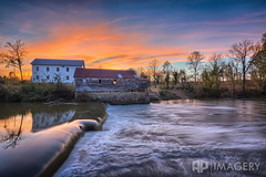Falls of Rough Mill - Oct 2016 (AP Imagery) Tags: mill urbex resort decay water grayson fallsofrough rural dam sunset flour greenbrothers ky urbanexploring farm historic kentucky grist roughriver