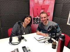 El arranque, Radio Zonica. Maximiliano Lequi