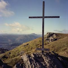 Ben Ledi (Kevin J Allan) Tags: ffilmkodakportra400 benledi camerafujifilmga645zi scotland hill trossachs mountain y