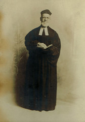 Man of the Cloth (~ Lone Wadi Archives ~) Tags: rexsantiqueshop cabinetcard minister reverend clergy portrait lostphoto foundphoto mysterious unknown retro apachejunctionarizona