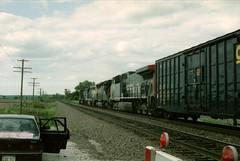 1421 (richiekennedy56) Tags: southernpacific csx sd40t2 sd45 ac44cw ssw8373 sp355 douglascountyks kansas laptadscorner lawrence railphotos unitedstates usa