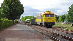 A1A A1A 68537 - AMBERT (Puy-de-Dme - France) (philreg2011) Tags: train trein sncf puydedome ambert agrivap sncf68500 sncf68537