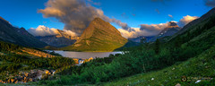 m a n y  g l a c i e r  (pano) 13581 (Philip Esterle) Tags: trees panorama mountains clouds sunrise dawn landscapes us montana skies unitedstates lakes scenic waterfalls streams glaciernationalpark skyscapes forests hdr naturephotography waterscapes landscapephotography babb angelwing manyglacierhotel swiftcurrentlake mtwilbur mountainscapes grinnellpoint swiftcurrentcreek swiftcurrentfalls pentaxk3 fingolfinphoto philipesterle