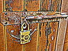 bolted (Jackal1) Tags: urban rust peeling decay worn bolt yale padlock