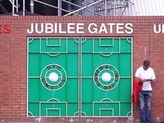Jubilee Gates (lcfcian1) Tags: city uk england sport court football leicester dean 11 premier bournemouth league afc premiership afcbournemouth deancourt bpl epl leicestercity 29815 vitalitystadium afcbournemouth11leicestercity29815