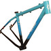 Gunnar Rock Hound with 44mm Head tube in Baltimore Bicycle Work Team Paint - Front View