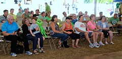 An appreciative audience at the Northeast Philadelphia Irish Festival