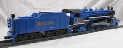 BMR-425_05 (SavaTheAggie) Tags: blue mountain train reading lego pacific engine trains steam creation locomotive own moc 425 462