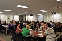 "WICS Week 1: 1st General Meeting & Mentorship Mixer 9/30/15 • <a style=""font-size:0.8em;"" href=""http://www.flickr.com/photos/88229021@N04/21735996270/"" target=""_blank"">View on Flickr</a>"