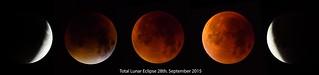 Total Lunar Eclipse 28th. September 2015.