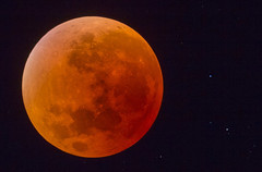Total Lunar Eclipse - Supermoon (Bill-Metallinos) Tags: red sky moon night stars photography star eclipse long exposure space super luna greece telescope astrophotography astronomy nightsky corfu astrophoto metallinos supermoon astrocorfu astrovox