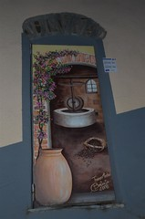 Valloria (089) (Pier Romano) Tags: doors painted liguria porte imperia artisti dipinte valloria dolcedo