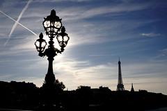 Pont Alexandre III, Paris (nickcoates74) Tags: autumn paris france lamp silhouette automne ledefrance sony eiffeltower sigma toureiffel alpha contrejour alterne pontalexandre3 francefrance pontalexendreiii a6000 ilce6000 30mmf24dn